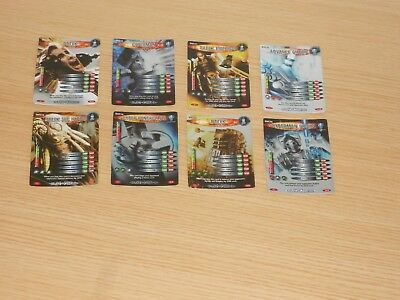 Doctor Who Battles in Time x 8 Cards (DVC09 to DVC16) Good