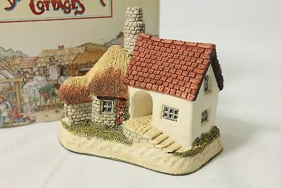 David Winter 'The Pottery' 1990#8 Collectors Guild Cottage Small Figurine COA+Bx