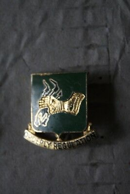 Unit Crest PIN 720th Military Police Battalion Orderly Regulation Insignia PIN