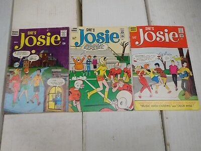 She's Josie #6 10 12 Archie 1964 1965 Silver Age NO RESERVE Lot 33