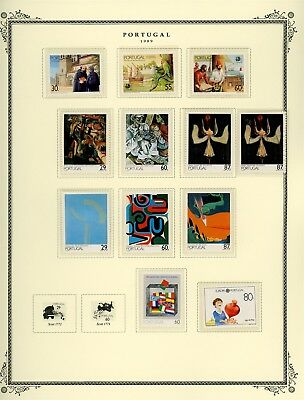 Portugal Scott Specialized Album Page Lot #140 - SEE SCAN - $$$