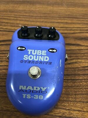 USED Nady Audio TS-30 Tube Sound Overdrive Pedal