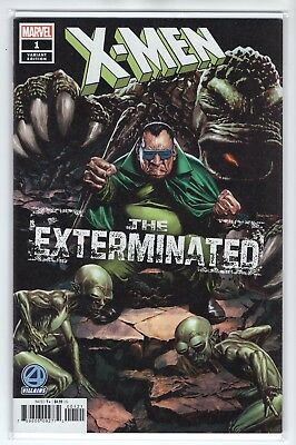 "X-Men Issue #1 ""The Exterminated"" Variant Cover  Marvel Comics (1st Print 2018)"