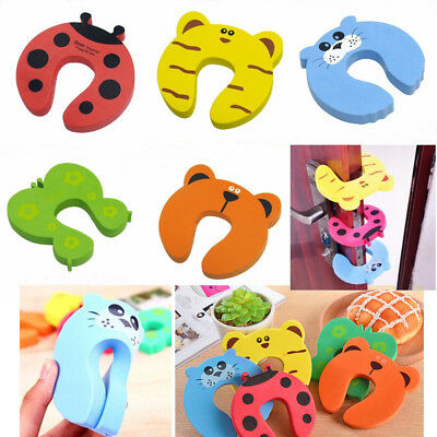 1 Pcs Clamp Protection For Window Doors Doorstop Window Stopper Protection chil