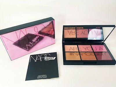 NARS NARSissist Unfiltered II Cheek Palette 8337 New In Box! 100% Authentic