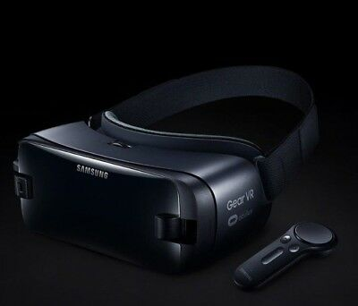 Official Genuine Samsung Gear VR & Controller Powered by Oculus - Orchid Gray