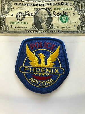 Phoenix Arizona police Patch new un-sewn in excellent condition