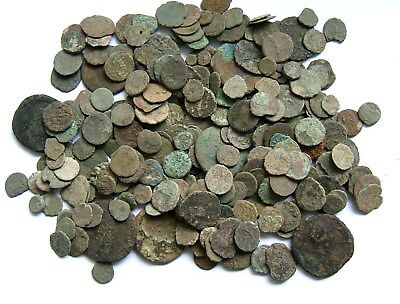 Over 250 Roman Bronze Coins – 1st- 4th Century AD: UK Detecting Finds: Low Grade