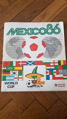 Album Panini Foot Mexico 86