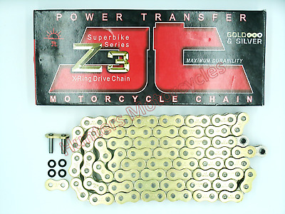 Suzuki GSF1250 Bandit (2007 to 2012) JT Z3 SUPER HEAVY Gold X-Ring Drive Chain