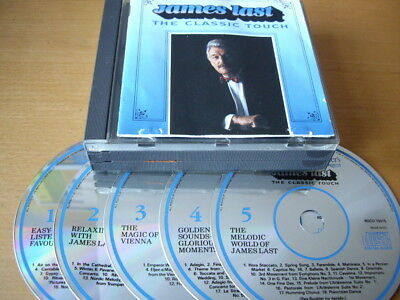 James Last - The Classic Touch (1988) 5-Cd: Reader Digest Fat Case Nr Mint
