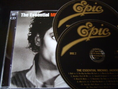 Michael Jackson - The Essential 2-Cd: Greatest Hits Singles Very Best Of Mint