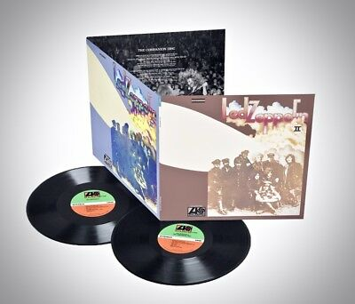 ATLANTIC 2-LPs R1-536180: Led Zeppelin - Led Zeppelin II - 2014 GERMANY SEALED