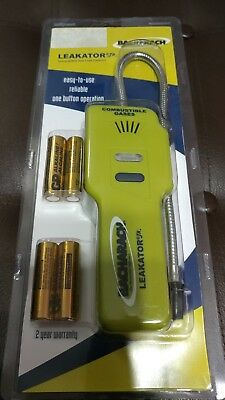 Bacharach 0019-7075 Leakator Jr. Electronic Combustible Gas Leak Detector. NEW