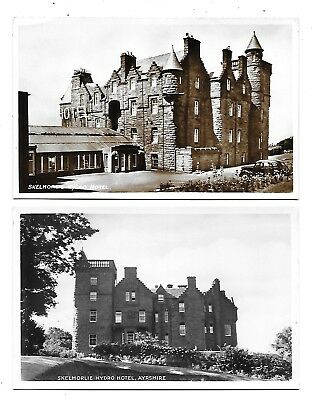 SKELMORLIE Hydro Hotel Lot 2 Early RP Ayrshire Postcard