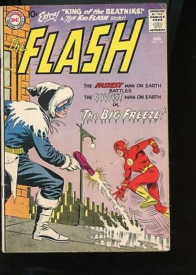 Flash 114 1960 Captain Cold Appearance Graded 4.0 Very Good