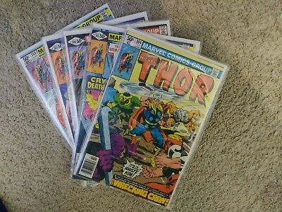 The Mighty Thor 304, 305, 306, 307, 308 ~ 5 Book Lot ~ NM
