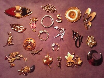 Large Lot of Vintage to Now  Pins,  All are marked!