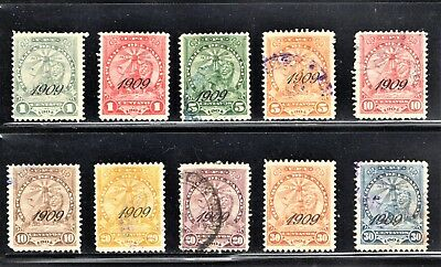 Hick Girl Stamp-Beautiful Used Paraguay Stamp Assortment O.p.  1909  Lion  K848