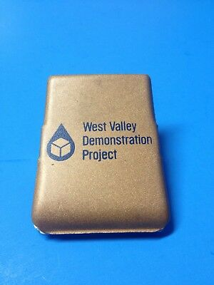 1960s VTG WEST VALLEY NY DEMONSTRATION PROJECT NUCLEAR ADVERTISING MAGNETIC CLIP