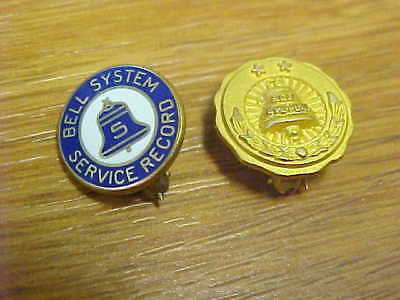 Bell System Service Awards, Twenty and Five Years