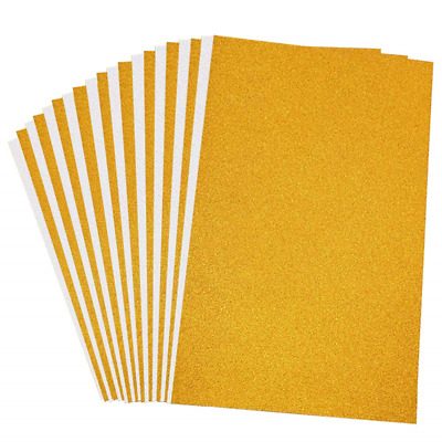 JEJE GOLD GLITTER No Shed Self Adhesive Peel Off Sheet 3.0410 DL Size