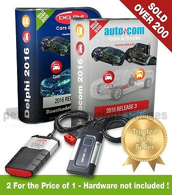 ☆2018 Limited Edition☆Delphi Autocom 2016.0.02 Cars/Vans/Trucks Software