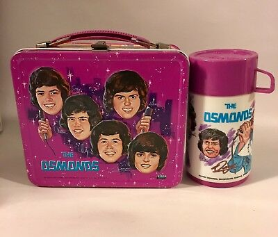 The Osmonds Lunchbox And Thermos 1973 Very Nice!