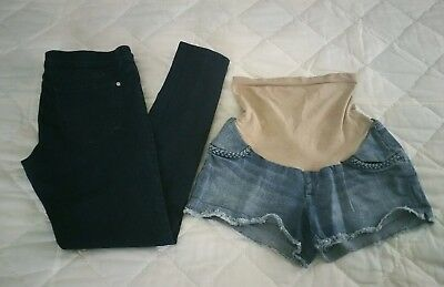 Maternity Shorts And Pants M/L Jessica Simpson & Celebrity pink