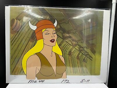 He-Man and the Masters of the Universe Authentic Cartoon Cel w/ COA