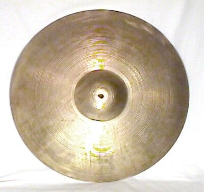 "Vintage Avedis Zildjian 20"" Ride Or Crash Cymbal 1429 Grams No Reserve"