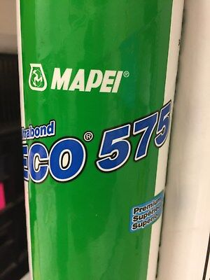 Lot of 2 Tubes  Mapei Wall Base Adhesive Ultra bond Eco 575 Premium  28.7 oz