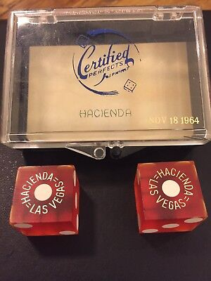 Hacienda Dice And Box - 1964