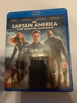 Captain America: The Winter Soldier (Blu-ray Disc) New