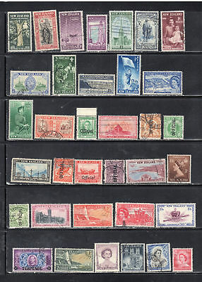 New Zealand Stamps  Canceled Used   Lot  37435