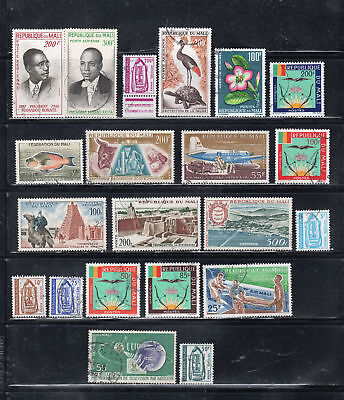 Mali  Africa Stamps Canceled Used    Lot  37452