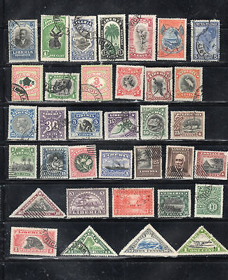 Liberia Africa Stamps Used    Lot 37460