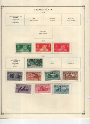 Tripolitania Mostly Mint Collection