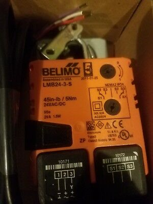 Belimo LMB24-3-S Non-Spring Return,On/Off/Floating Point Control Damper Actuator