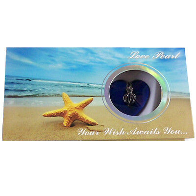 MERZIEs Love Pearl Harvest Oyster Cage STARFISH beige Gift Box Wish Necklace kit