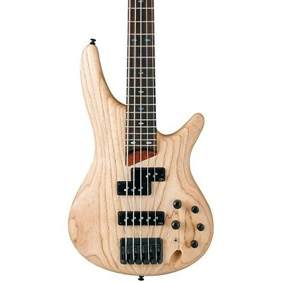Ibanez Sr755 Ntf 5 String Electric Bass Natural Flat 699 00