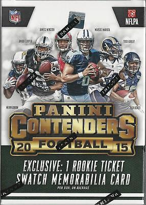 2015 Panini Contenders NFL Football Trading Cards Blaster Box