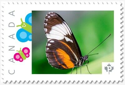 BUTTERFLY Isabella = Picture Postage stamp MNH  Canada 2018 [p18-09-19]ac