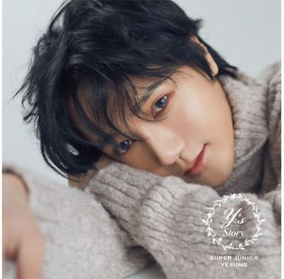 SUPER JUNIOR-YESUNG Japan 1st Full Album [STORY] (CD+Blu-ray) Limited Edition