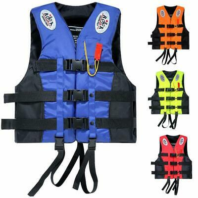 New US Summer Water Sport Adult Swimming Life Jacket Vest Fully Enclosed 2XL 3XL