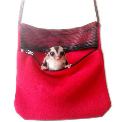 1x Mini Pet Hamster Carrier Bag Hedgehog Chinchilla Cage Sleeping Pack Pouch T1