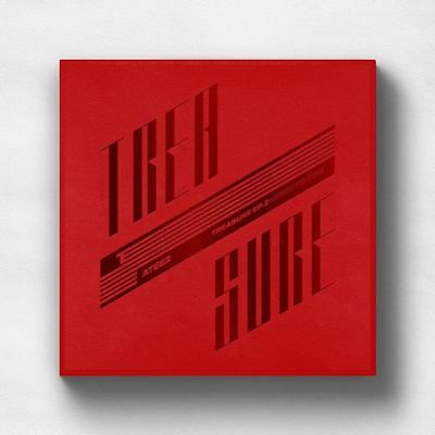 ATEEZ TREASURE EP.2 : Zero To One CD+Photobook+Sticker+Etc+Tracking #