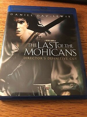 The Last of the Mohicans (Blu-ray Disc,1992)Like New