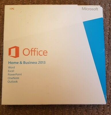 Microsoft Office Home & Business 2013 DVD