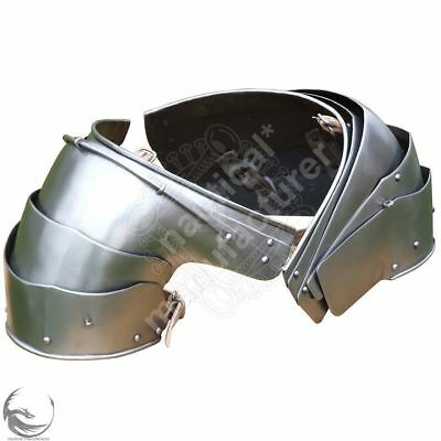 15th century collectibles medieval knight armor pauldron pair reenactment replic